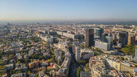 Cityscape of Madrid