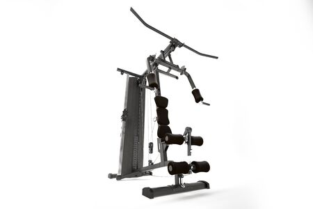 Gym machine isolated on white. 3d render Stock Photo