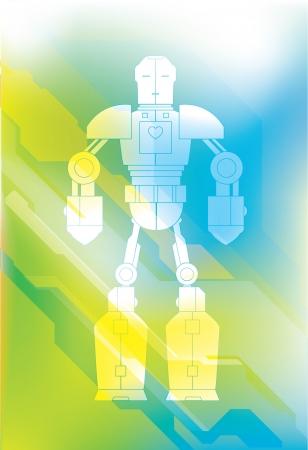 Robot Character Stock Vector - 14518608