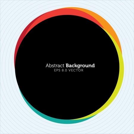 Abstract Circle Design Stock Vector - 14518607