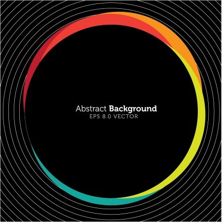 Abstract Circle Design Stock Vector - 14518612
