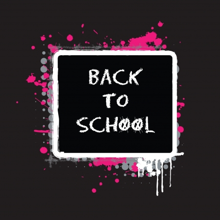 Back to School Abstract Design Vector