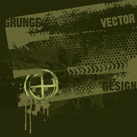estrellas  de militares: Estilo Militar Diseño del Grunge