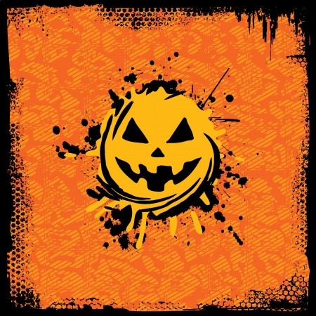 Grunge Halloween Design Vector