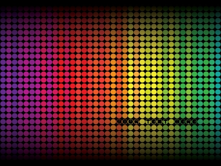 Colorful Abstract Dots Stock Vector - 14556508