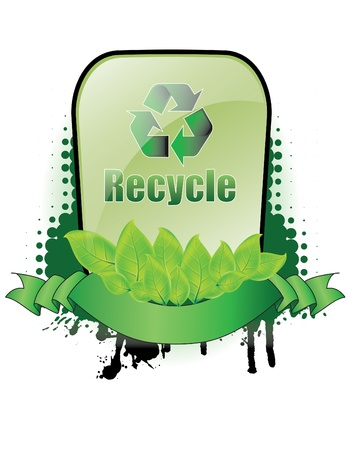 Recycle banner Stock Vector - 14556526