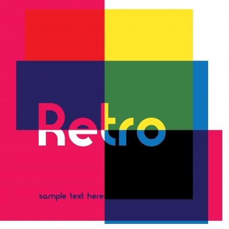 funk: Retro Design Illustration