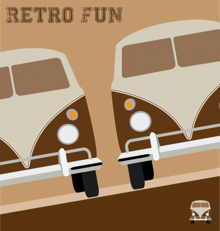 Retro Design Illustration