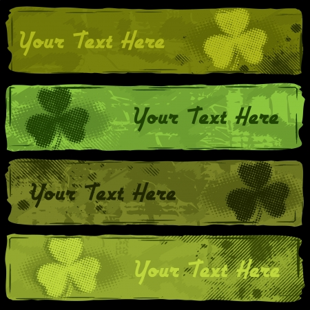St  Patrick s Banners Vector