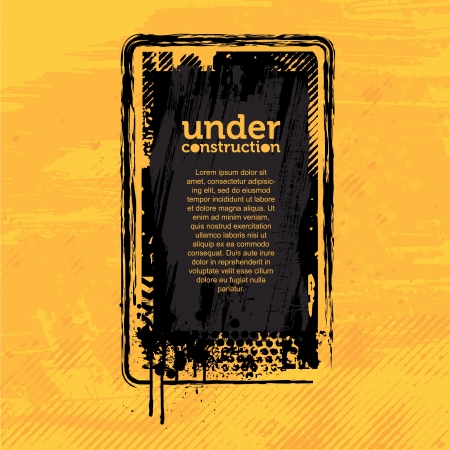 Under Construction Banner Stock Vector - 14555659
