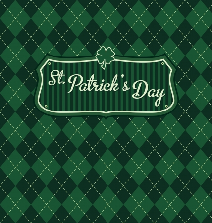 lucky day: Saint Patrick s Day Design