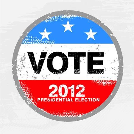 renuncia: Estados Unidos Elecciones 2012 Vectores
