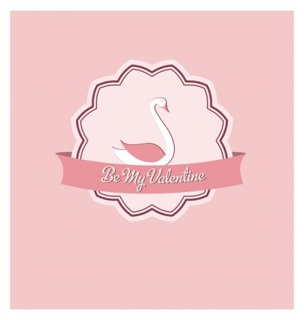 Vintage Valentines Day Design Stock Vector - 14554362