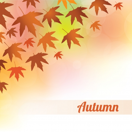 saturated color: Autumn Background