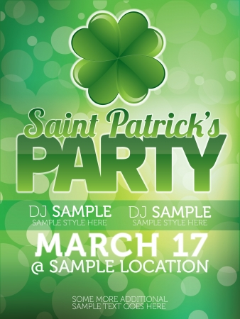 patricks: Saint Patricks Day Party Poster
