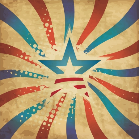 us government: Independence Day USA Grunge Design Illustration