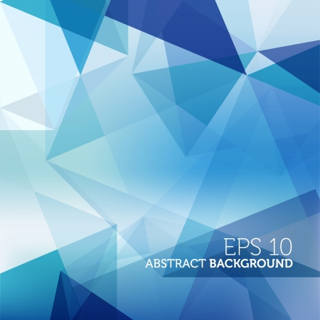 Abstract Blue Business Background Vector