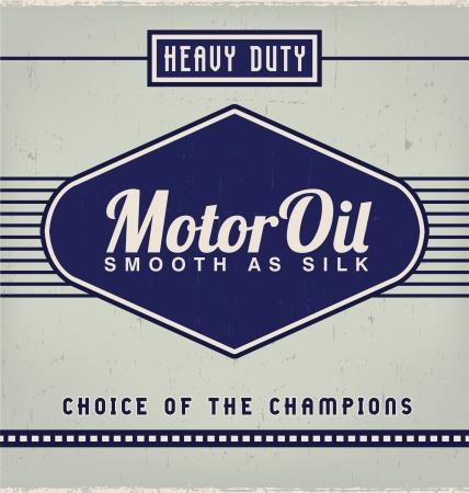 Vintage Label Design Template Ilustracja
