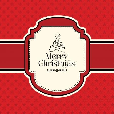 Calligraphic Christmas Design Stock Vector - 15793386