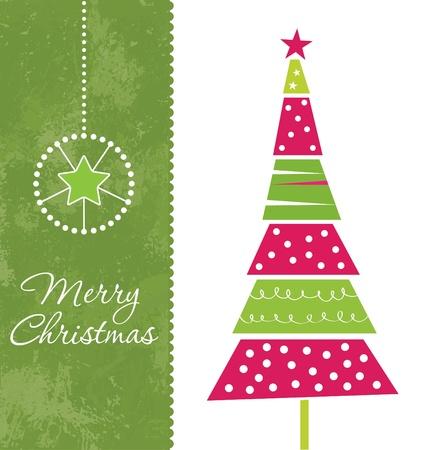 Carte de Noël de conception Vecteurs