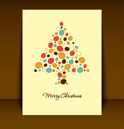Christmas Card Design Stock Vector - 15793380