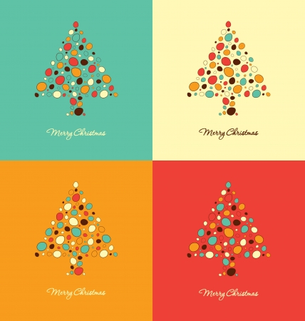 Christmas Card Design Templates Vector