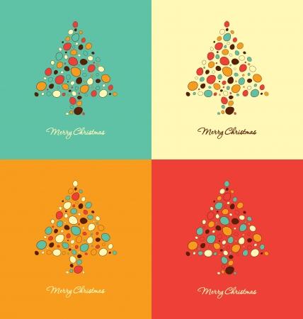 christmas backdrop: Christmas Card Design Templates Illustration