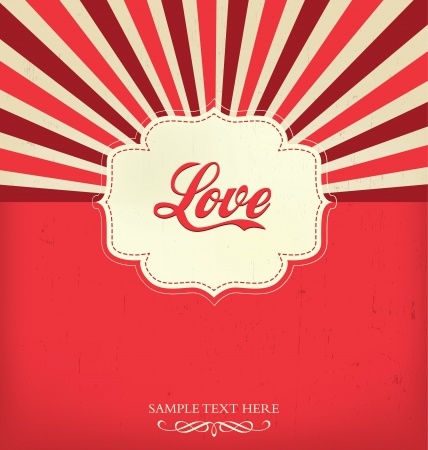 Love - Valentines Design Template Vector