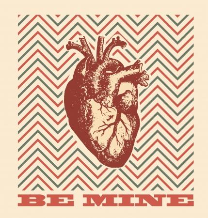 Be Mine - Valentines Day Design Stock Vector - 17215272