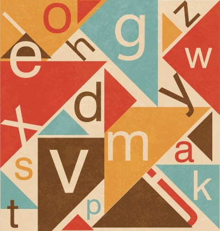 Vintage Style Typographic Design Stock Vector - 18701594