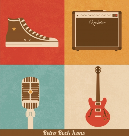 rockstar: Retro Rock Icons