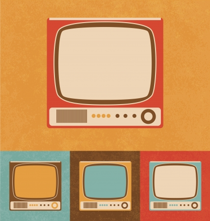 Retro Icons - Small Television Set photo