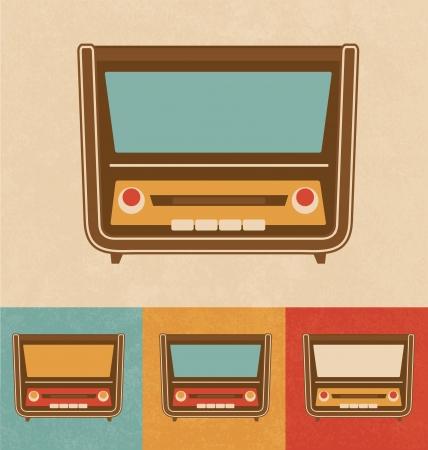 Retro Icons - Old Radio Stock Photo - 20327441