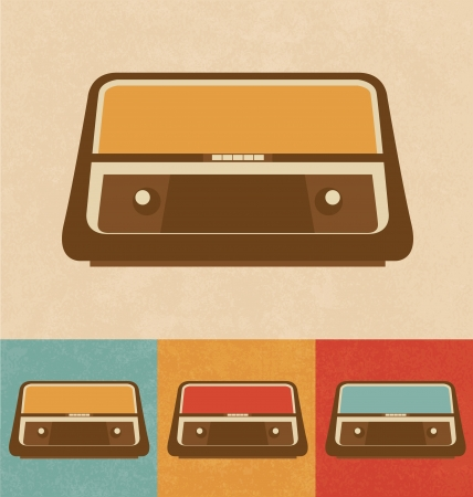 Retro Icons - Radio Stock Photo - 20327464