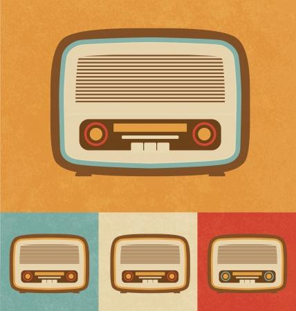 Retro Icons - Old Radio Stock Photo - 20327819