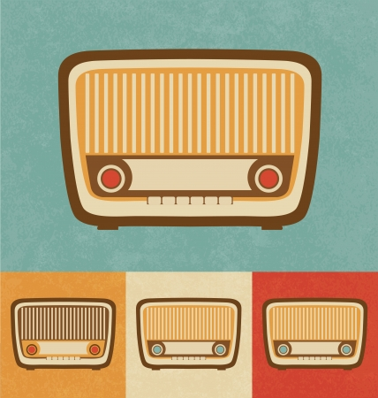 Retro Icons - Old Radio Stock Photo - 20327802