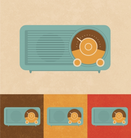 Retro Icons - Radio Stock Photo - 20327465