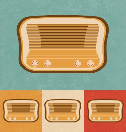 tabletop: Retro Icons - Tabletop Radio