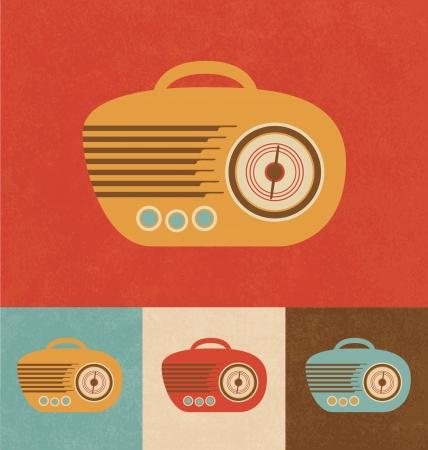 Retro Icons - Hand Radio Stock Photo - 20327854