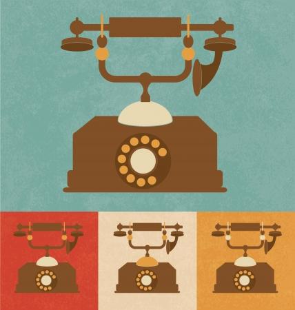 Retro Icons - Old Telephone photo