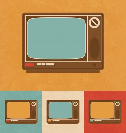 Retro Icons - Television Set photo