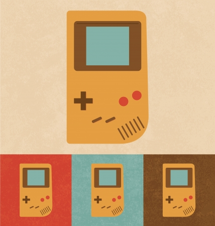 Retro Icons - Old Gadget Vector