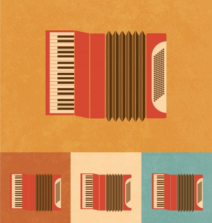 acordeón: Iconos Retro - Acordeón