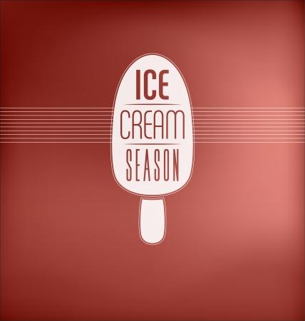 sorbet: Ice Cream Season - Typographic Design Concept