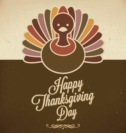 Thanksgiving Design   Retro Style Elements   Thanksgivings Day   Vintage Ornaments   Vector Art 向量圖像
