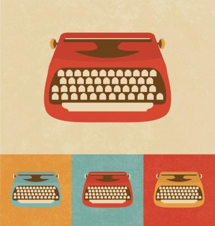 typewriter: Retro Icons - Typewriter