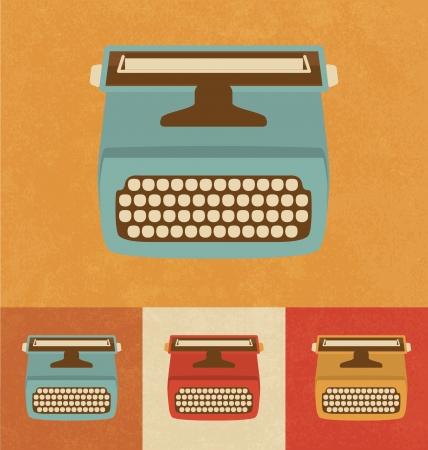 Retro Icons - Schreibmaschine