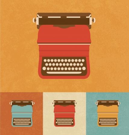 Retro Icons - Old Typewriter