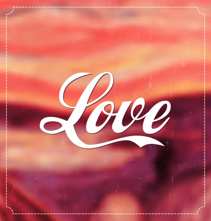 Typographic Valentines Design