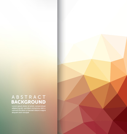 Abstract Background - Triangle and blurred banner design Zdjęcie Seryjne - 45168112